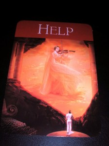 Self-Care, messages of help, oracle cards