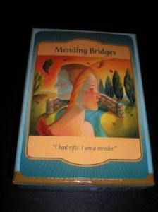 oracle cards, messages of mending, bridge building