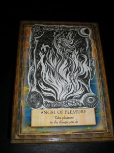 oracle cards, angel messages, pleasure