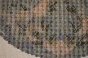 greenman cross stitch details