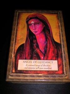 angel messages, living truthfully, guidance, oracle cards