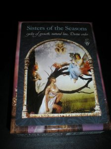 sisters of the seasons, oracle cards