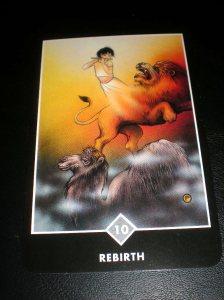 zen tarot, rebirth, oracle cards, alternative tarot,