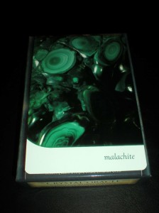 crystal oracle cards, malachite