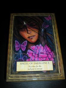 oracle cards, angel messages, emergence, front row to life