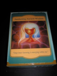 oracle cards, wisdom messages