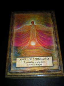 angel messages, abundance blessings