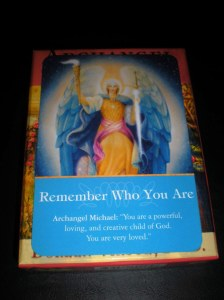 archangel michael, oracle cards