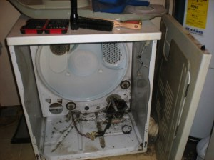 clothes dryer motor replacement