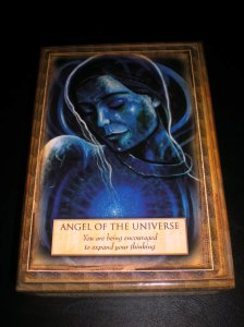 angels messages, oracle cards