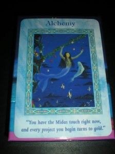 mermaid messages, alchemy, oracle cards