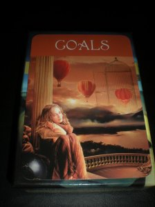 self-care, oracle cards, goals