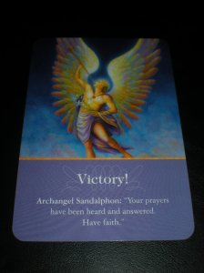 archangels, messages from saints and angels, oracle cards