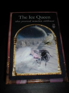 oracle cards, ice queen