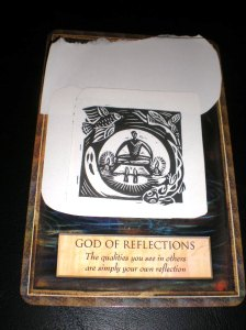 oracle cards, god of reflection
