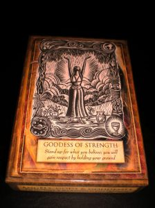 oracle cards, goddesses, angels, strength,