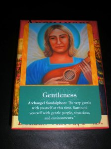 archangels, sandalphon, messages of gentleness