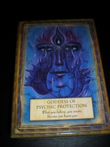 oracle cards, goddess messages, psychic protection