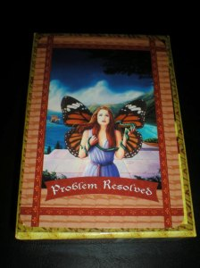 oracle cards, healing with the fairies, problem resolved