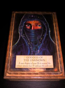 goddess of the unknown, new chapters, oracle cards
