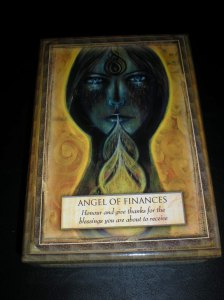 angel messages, finances, oracle cards