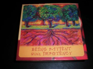 oracle cards, sylvia browne, patient and impotent