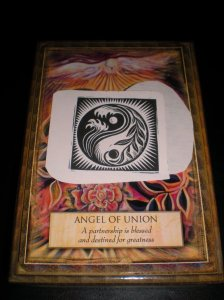 oracle cards, union, angel messages
