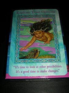 mermaid oracle cards, healing with mermaids, exploring options