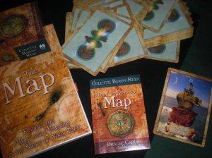 the map, colette baron-reid
