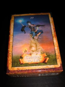 oracle cards, coming to life messages, compassion