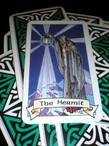 hermit, robin wood tarot, 9th card of the major arcana