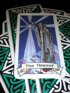 hermit, robin wood tarot, 9th card of the major arcana