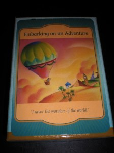 oracle cards, gateway cards, embarking on an adventure
