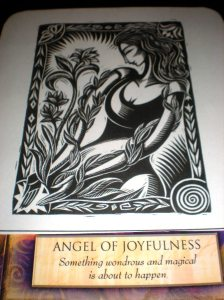 oracle cards, angel of joyfulness, angel messages