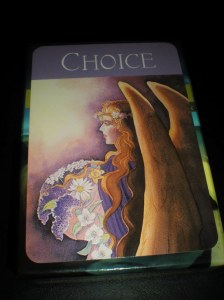 oracle cards, angel messages, choice, trust, wisdom