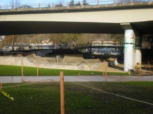 eugene's skate park, largest covered and lit skate park in the country