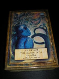 oracle cards, goddess messages, the sacred path