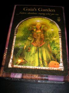 oracle cards, gaia's garden, wisdom of the hidden realm