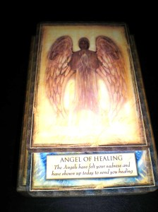 oracle cards, healing angels