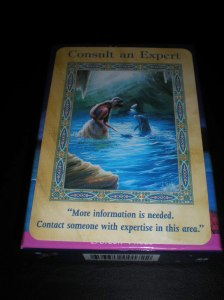 oracle cards, consult an expert, mermaid messages