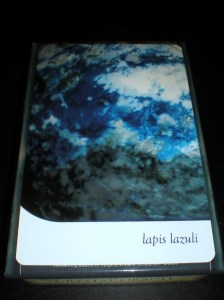 lapis lazuli, oracle cards, crystal messages