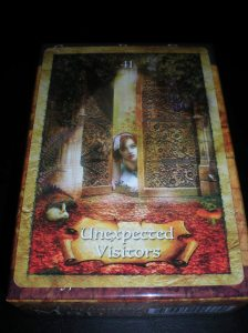 oracle cards, unexpected visitors