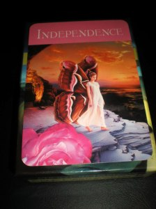 oracle cards, self-care, independence