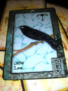 australia dreaming, oracle cards, animal messages, crow law