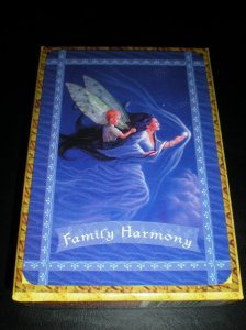 fairie messages, oracle cards, family harmony