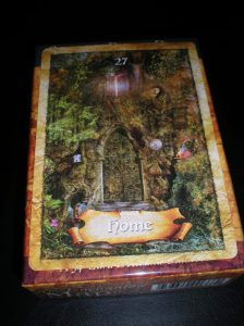 oracle cards, the enchanted map, home messages