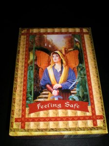oracle cards, fairie messages, feeling safe, doreen virtue