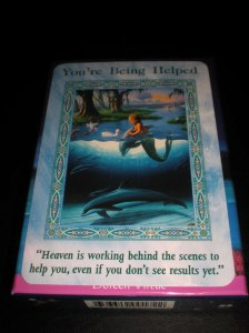 oracle cards, mermaid messages, help from above