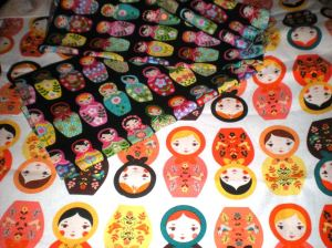 What makes me Happy? Palm trees, pink flamingos, bikes, aaaaand...... RUSSIAN STACKING DOLLS !!!