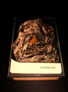 molybdenite, crystal messages, oracle cards
